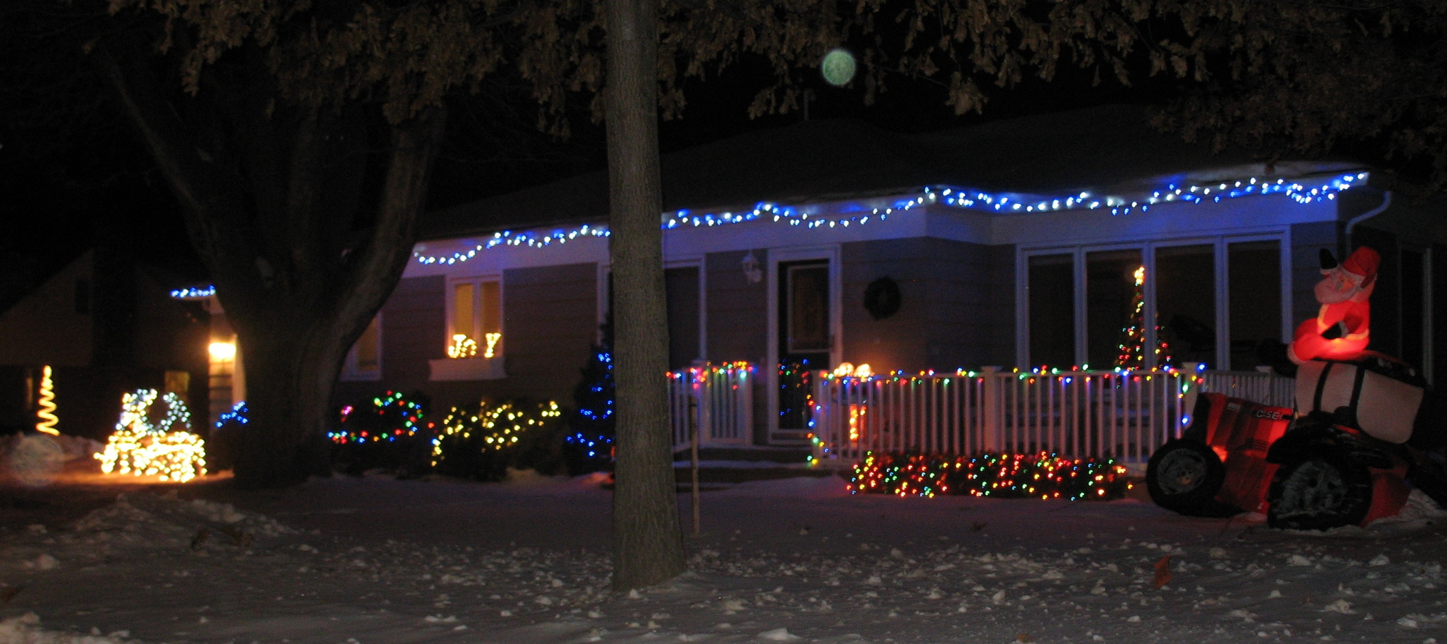 Home Accent Christmas Lights