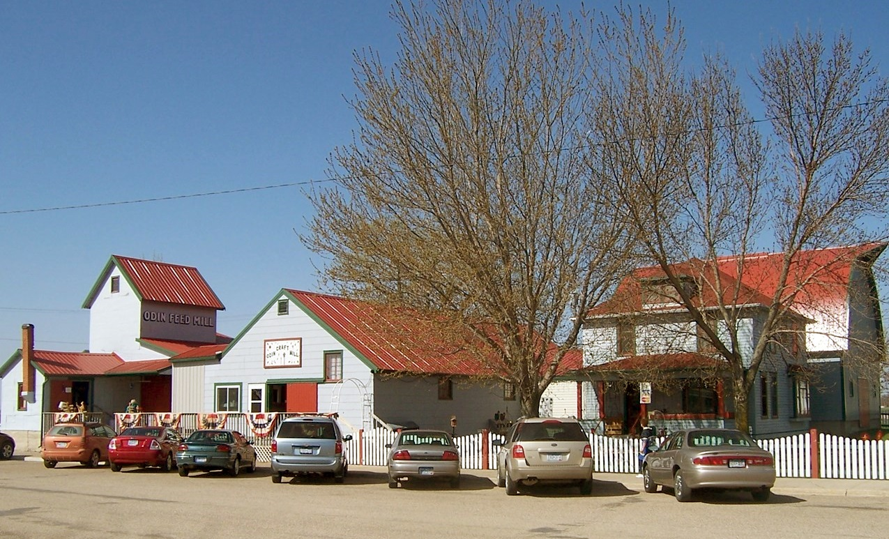 THE ODIN CRAFT Mill has become one of the landmarks of downtown Odin.