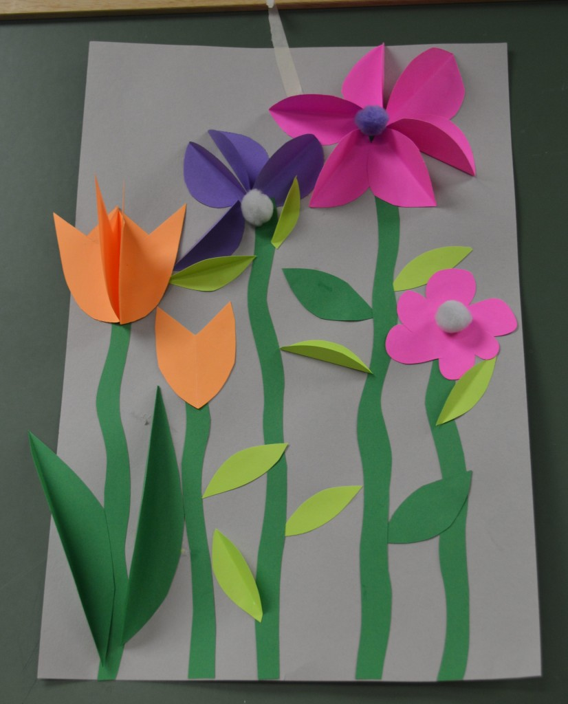 Construction paper art ideas images for Paper art projects