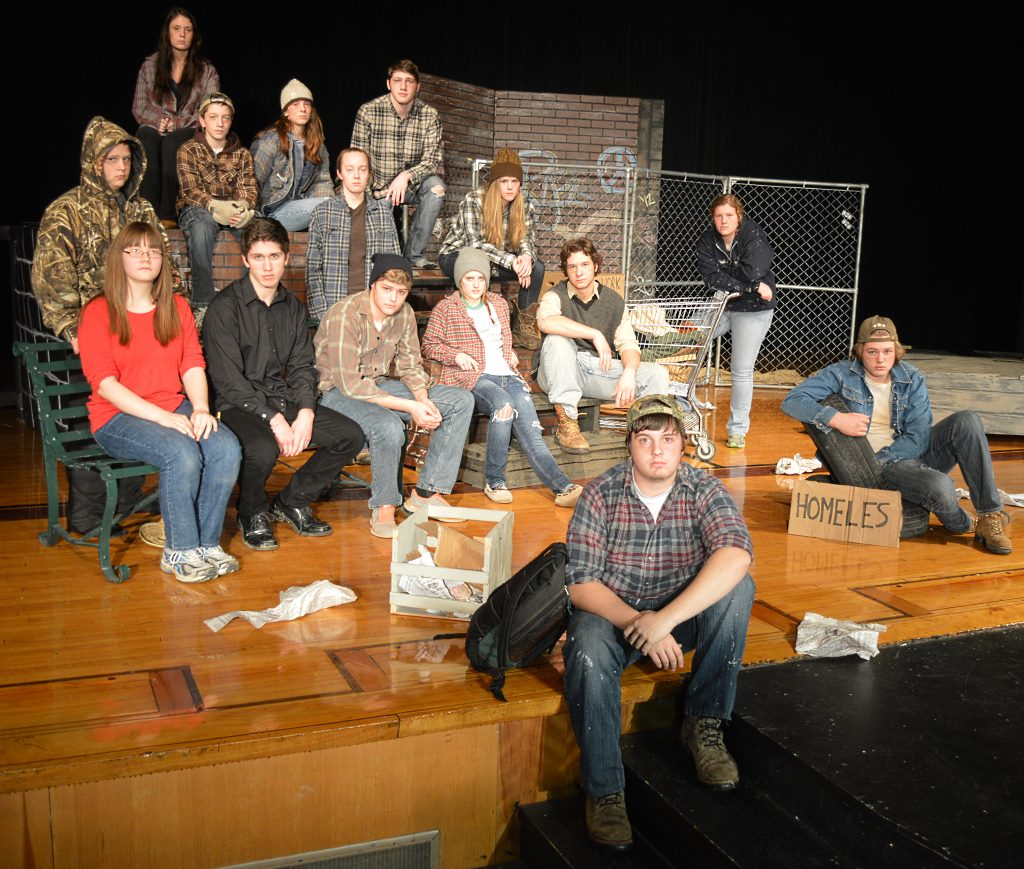 cast and crew of blues