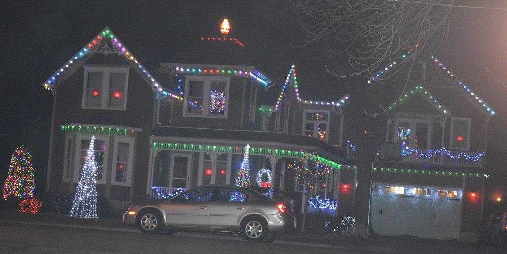 Watkins Park Christmas Lights