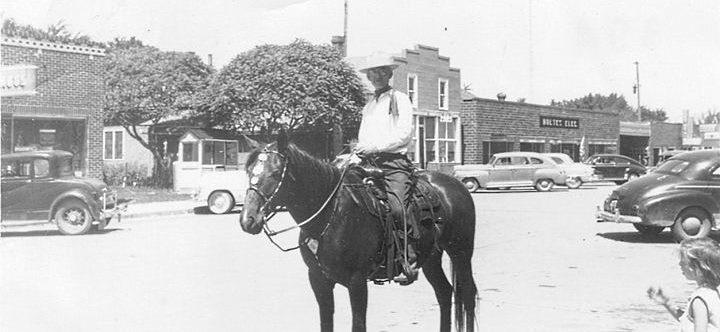 butterfield - pete linscheid (saddle shop) 1955