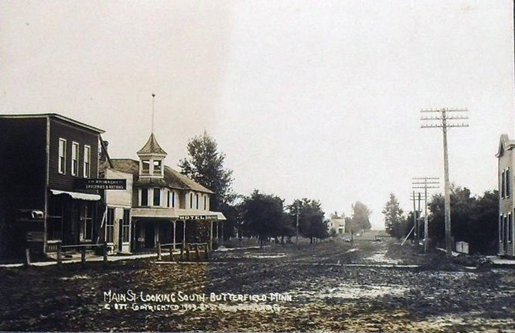 main street looking south 1903