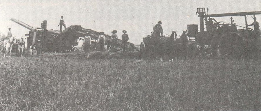 plow threshing