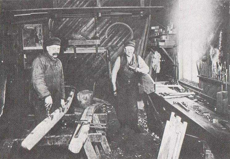 HERMAN KREMMIN AND Frank Derksen were coffin makers for the young Village of Mountain Lake.