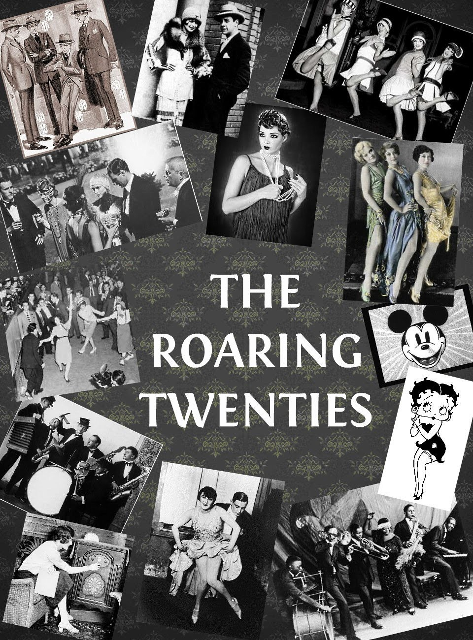 the roaring twenties The roaring twenties (1939) is action director raoul walsh's first gangster film (and first film for warner bros) [note: walsh replaced director anatole litvak at the last minute] this newsreel-like, semi-documentary, authentic-looking film, with both hard-hitting gangster genre action and.